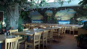 Interior of Back Home in Lahaina in Manhattan Beach