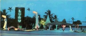 Postcard from Luau in Miami Beach