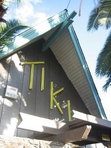 Exterior of Tiki Cocktail Lounge in Modesto