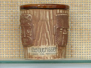 Bucket mug from Mark Thomas Outrigger in Monterey