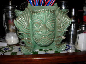 Mug at Aloha Polinesian Bar in Barcelona