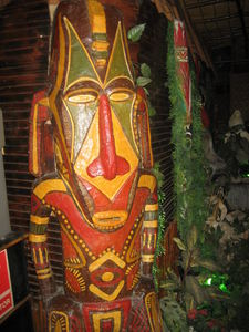 Tiki at Aloha Polinesian Bar in Barcelona