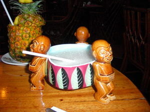 The Tiki Krog at Jardin Tiki in Montreal