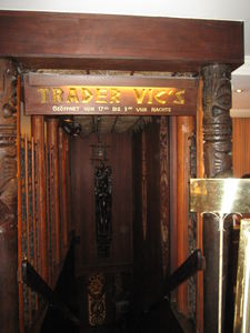Entrance to Trader Vic's in M�nchen