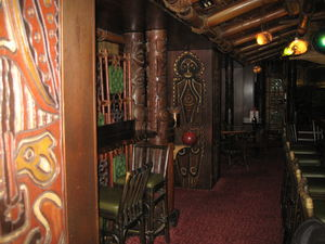 Dining area at Trader Vic's in M�nchen