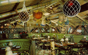 Postcard from Trader Vic's in New York