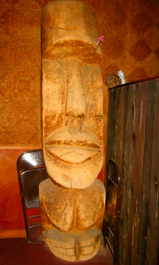 Tiki at Tonga Hut in North Hollywood