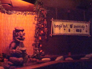 50th anniversary banner at Tonga Hut in North Hollywood