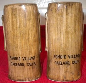 Moai salt & pepper shakers from Zombie Village in Oakland