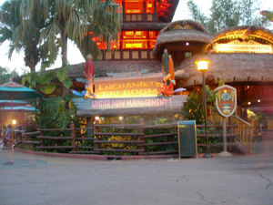 The Enchanted Tiki Room in Orlando