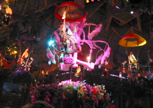 The show at the Enchanted Tiki Room