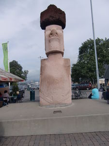 Moai at Kon-Tiki Museum in Oslo