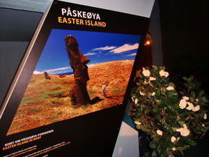Easter Island exhibit at Kon-Tiki Museum in Oslo