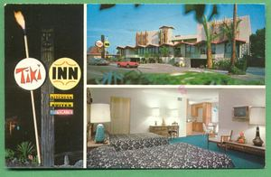 Postcard from Tiki Inn Motel in Palo Alto