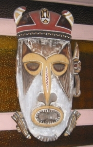 Mask from the Jasmine Tree exterior