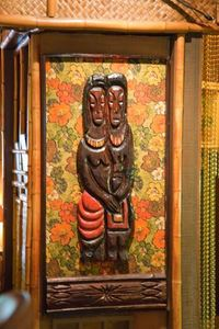 Witco carving at Hala Kahiki in River Grove