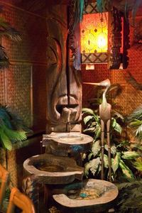 Large Witco fountain at Hala Kahiki in River Grove
