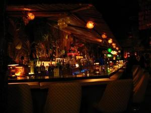 The bar at Hala Kahiki in River Grove
