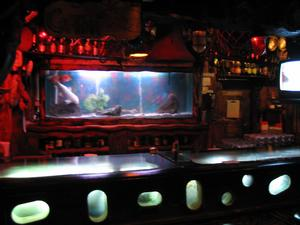 The bar at Bahooka Ribs & Grog in Rosemead