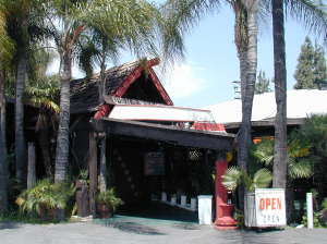 Entrance to Bahooka Ribs & Grog in Rosemead