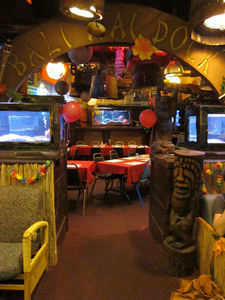 The Bali Hai Dock room at Bahooka Ribs & Grog in Rosemead
