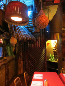 A corner at Bahooka Ribs & Grog in Rosemead