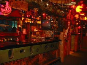 The bar at Bahooka