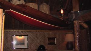 Interior at Trader Vic's in Beverly Hills