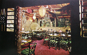 Postcard from the San Francisco Trader Vic's