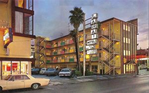 Postcard from Lanai Motel in San Francisco