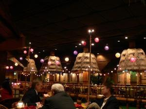 Dining room at Tonga Room in San Francisco