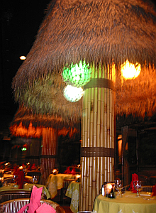 The dining room at the Tonga Room