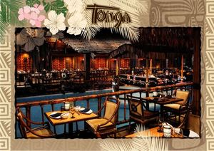 Postcard from Tonga Room in San Francisco