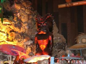 Tiki at the Tonga Room