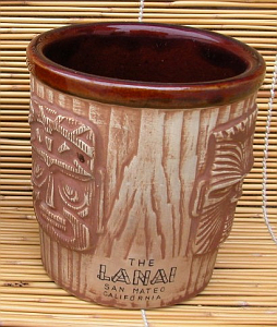 3-face bucket mug from the Lanai