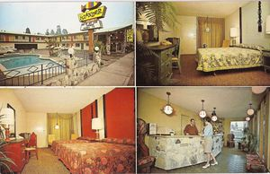 Postcard from Islander Motel in Santa Cruz