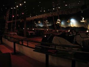 "The ""ship""-themed dining area at Kowloon in Saugus"