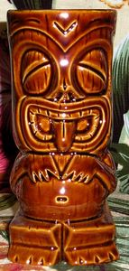 Tiki mug from Kowloon in Saugus