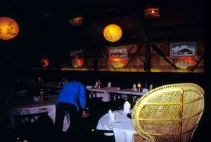 Main dining room at Trader Vic's in Scottsdale