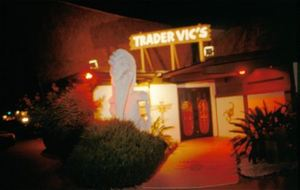 Main entrance to Trader Vic's in Scottsdale