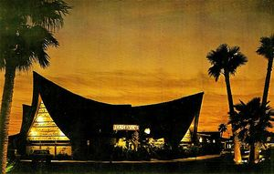 Postcard from Trader Vic's in Scottsdale