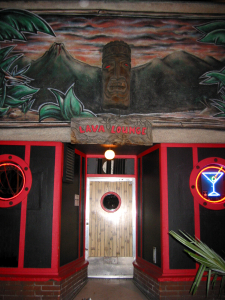 Entrance to the Lava Lounge