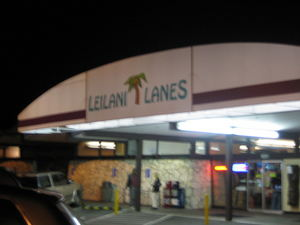 Exterior of Leilani Lanes in Seattle