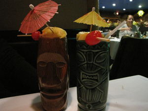 Diamond Head and Headhunter drinks at Jade Island in Staten Island