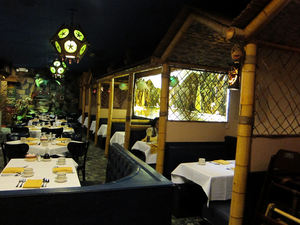 The dining room at Jade Island in Staten Island