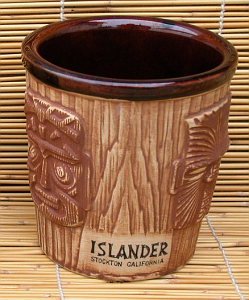 3-face bucket mug from the Islander in Stockton
