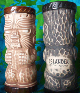 """Peanut"" or ""Islander child's"" mugs from the Islander in Stockton"