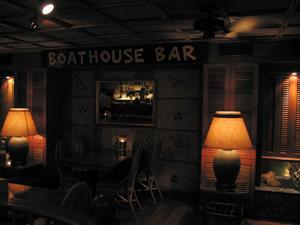 Boathouse Bar at Trader Vic's in Taipei