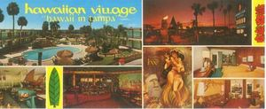 Postcard from Hawaiian Village in Tampa