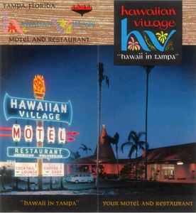 Image from a brochure for Hawaiian Village in Tampa